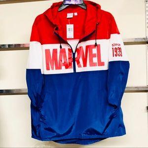 Men's marvel logo pullover hoodie